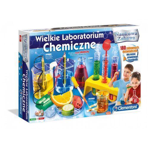 Clementoni Wielkie laboratorium chemiczne - (8005125604685)