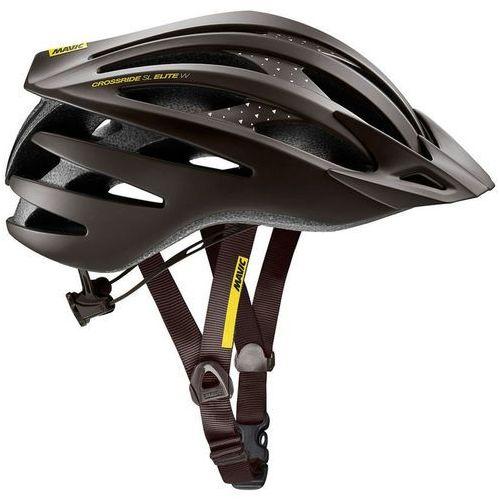 Mavic crossride sl elite kask rowerowy mężczyźni czarny 51-56 cm 2018 kaski miejskie i trekkingowe