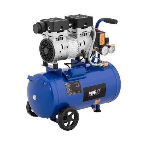 MSW Kompresor bezolejowy - 750 W - 24 l - 8 bar MSW-0AC750-24L - 3 LATA GWARANCJI