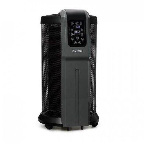 Klarstein datscha digital grzejnik eletryczny 360° 2200w termostat pilot timer (4260509681728)