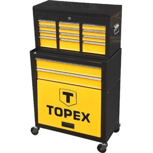 Szafka narzędziowa z półką nadstawną 79r500 marki Topex
