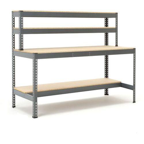 Aj produkty Stół warsztatowy combo, z półką 1/2, 1840x775x915 mm