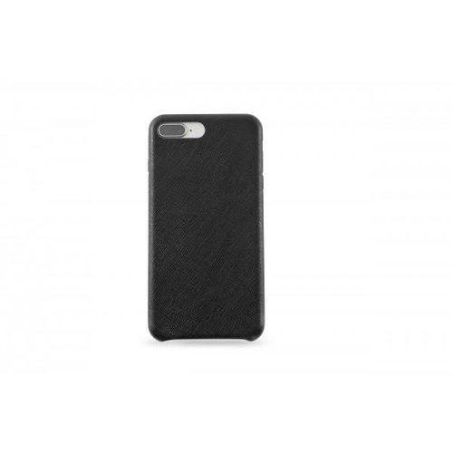Kmp leather case do iphone 7 plus/8 plus skórzane czarne
