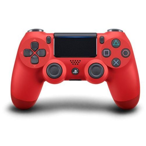 gamepad ps4 dualshock 4 czerwony v2, (ps719814153) marki Sony