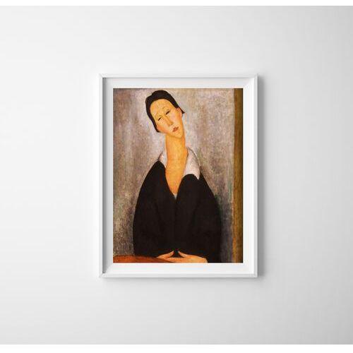 Plakatyw stylu retro Plakatyw stylu retro Amedeo Modigliani Portret polskiej kobiety