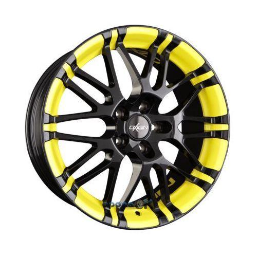 OXIGIN 14 OXROCK Black mit gelber Folienveredelung Einteilig 8.50 x 20 ET 45