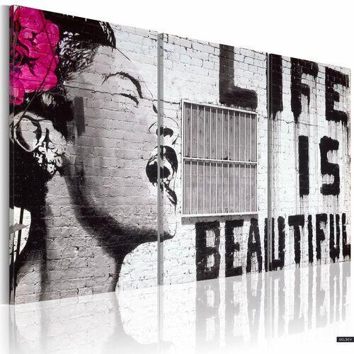 Selsey obraz - szczęśliwa dewiza 120x60 cm