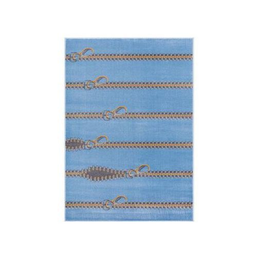 Dywan SLIDERS lazurowy 133 x 190 cm wys. runa 7 mm AGNELLA