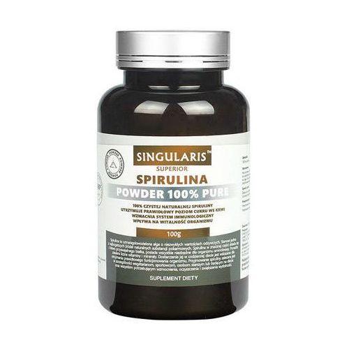 spirulina superior powder 100g marki Singularis