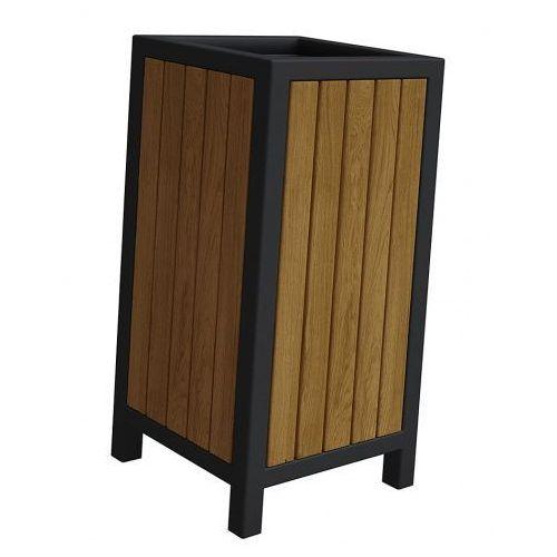 Drewniany kosz na śmieci norin - 24 kolory marki Producent: elior