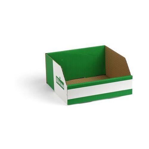 Skrzynki regałowe z kartonu, składane, opak. 150 szt., dł. x szer. x wys. 200x20
