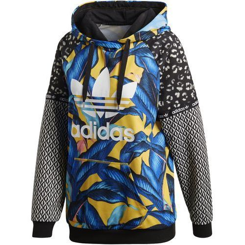 Bluza z kapturem trefoil dh3058 marki Adidas