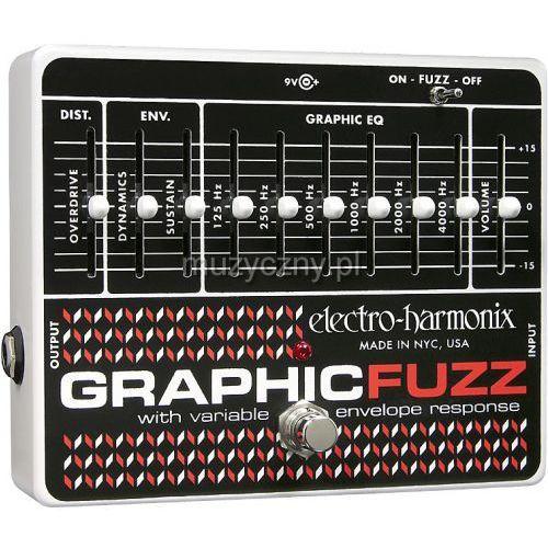 Electro harmonix  graphic fuzz efekt do gitary