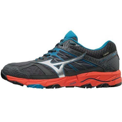 wave mujin 5 gtx buty do biegania mężczyźni pomarańczowy/czarny uk 10,5   eu 45 2018 buty terenowe marki Mizuno