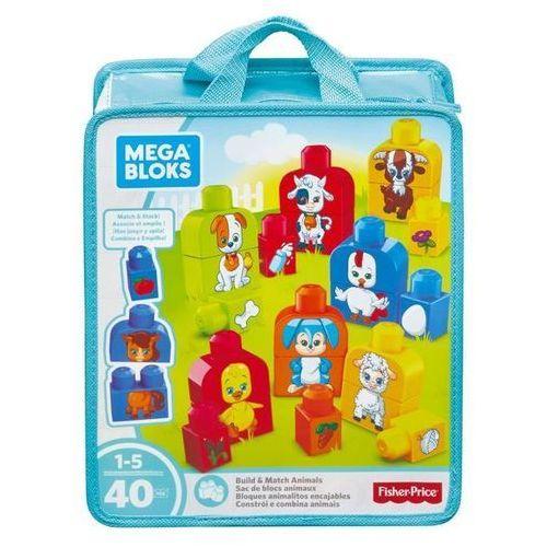 Mega Bloks Buduj i dopasowuj - Zwierzęta