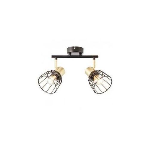 Brilliant Posca 86913/78 plafon lampa sufitowa 2x40W E14 czarna (4004353378980)