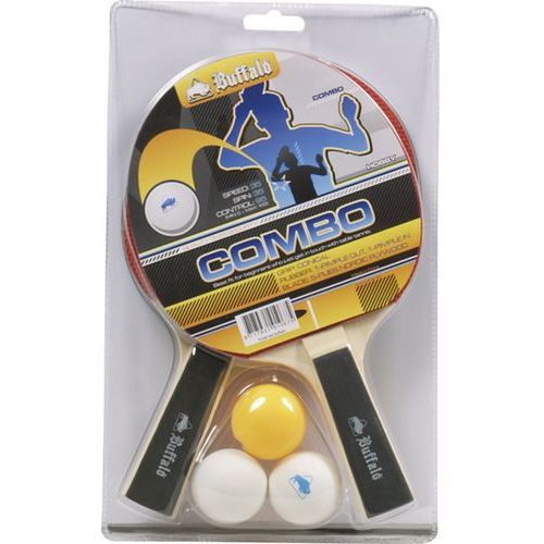 Zestaw 2 rakietek do tenisa stołowego BUFFALO COMBO
