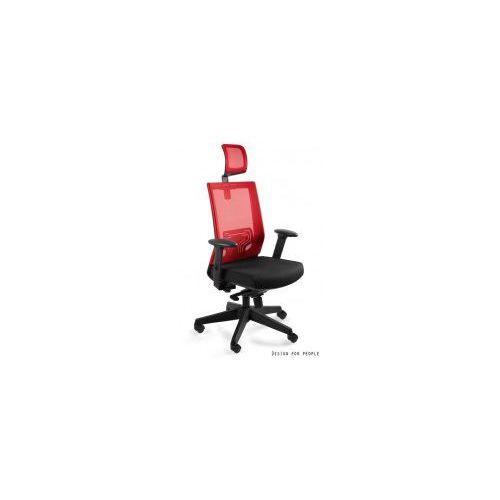 Krzesło biurowe nez czerwone marki Unique meble