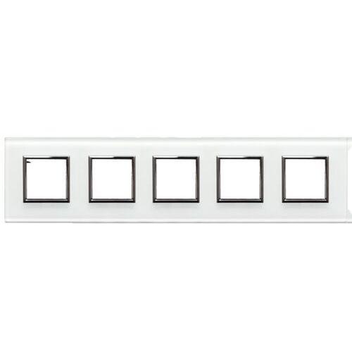 Kos - elektro system sp. z o.o. Dante:szkło white ramka 5x