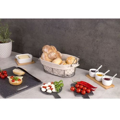 Zeller Koszyk na chleb, pieczywo, owoce country style, 30x21x11 cm,