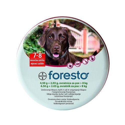 Bayer Foresto Obroża dla psów o masie ciała powyżej 8kg (dł.70cm)