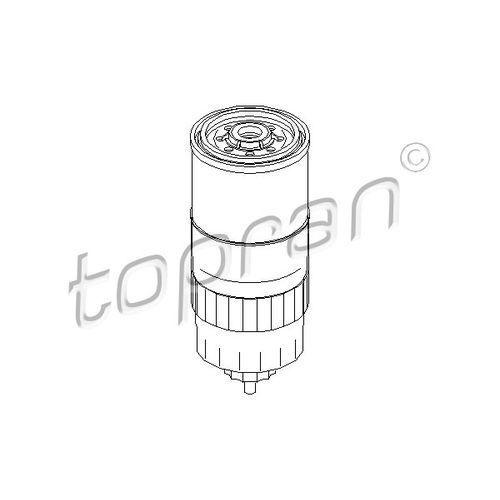 Filtr paliwa TOPRAN 100 316, 100 316