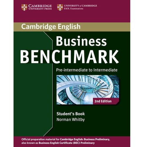 Business benchmark pre-intermediate to intermediate Student's book, Cambridge University Press
