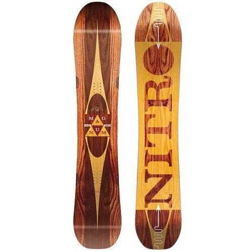 Nitro Potestowa deska snowboardowa magnum 163 wide cm