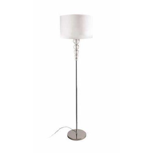 Maxlight elegance f0038 lampa oprawa podłogowa 1x60w e27 chrom/biała >>> rabatujemy do 20% każde zamówienie!!!