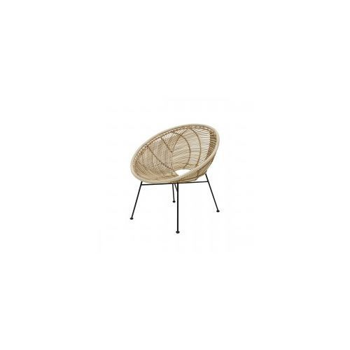 Hk living Fotel rattanowy basket naturalny -