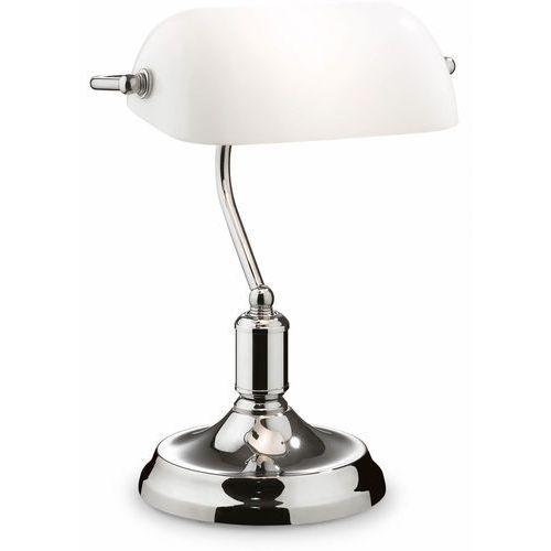 Ideal Lux 45047 - Lampa stołowa LAWYER 1xE27/60W/230V (8021696045047)