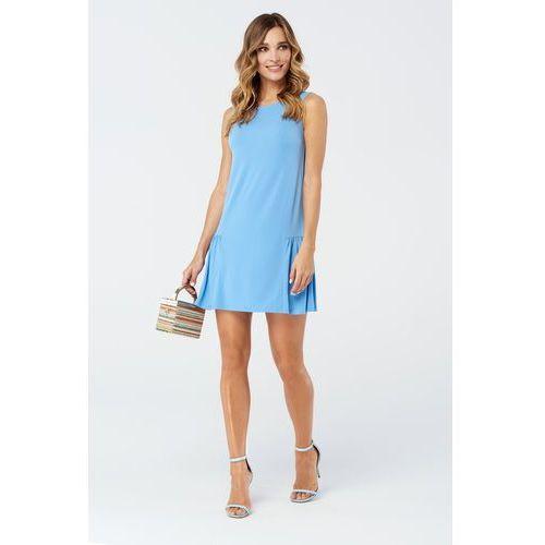 Sukienka canne w kolorze niebieskim marki Sugarfree