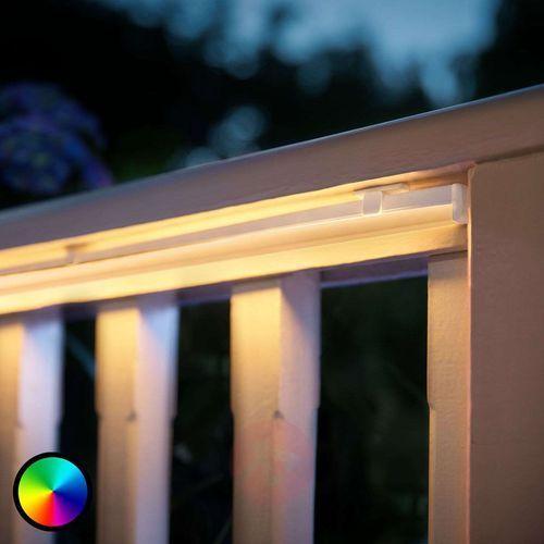 taśma świetlna 2 m – tereny zewnętrzne taśma świetlna 1 × 2 m, zasilacz 1 szt., kolorowe i białe światło 8718696804773 marki Philips hue