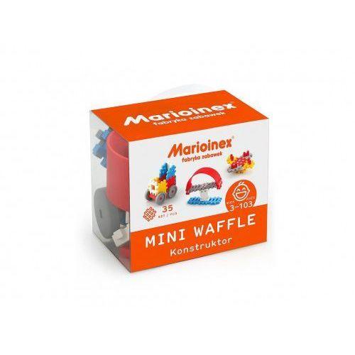 Marioinex Klocki waffle mini 35 sztuk chłopiec - DARMOWA DOSTAWA OD 199 ZŁ!!!