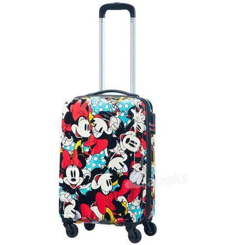 American tourister disney legends mała walizka kabinowa 20/55 cm / minnie comics - minnie comics (5414847812798)