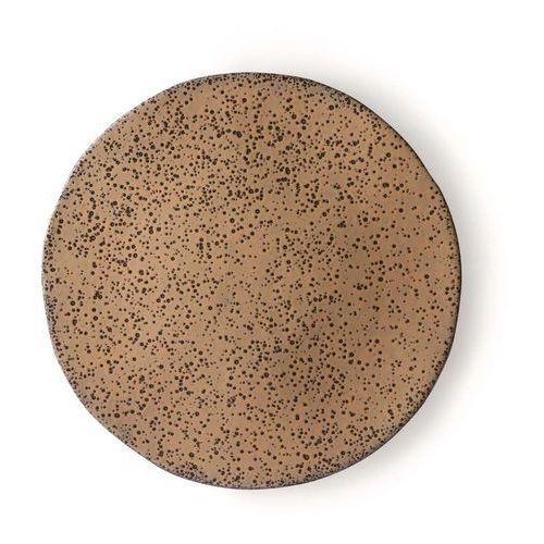 HK Living Ceramika gradientowa: talerz obiadowy beżowy ACE6895 (8718921033909)