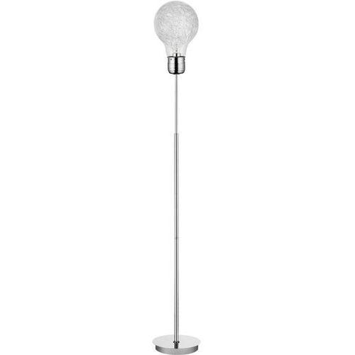 Britop lighting Lampa stojąca podłogowa bulb 1x60w e27 chrom 2840128