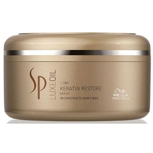 Wella Professionals SP Luxeoil maseczka odżywcza do włosów zniszczonych (Keratin Restore Mask) 150 ml (4015600612849)
