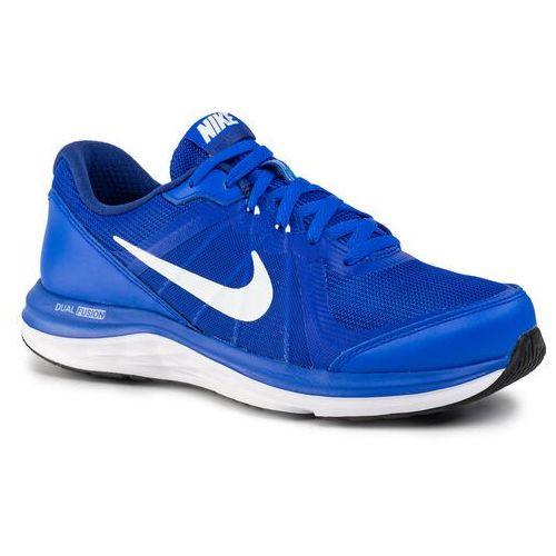 Nike Buty - dual fusion x 2 (gs) 820305 400 racer blue/white/ dp ryl bl/wht