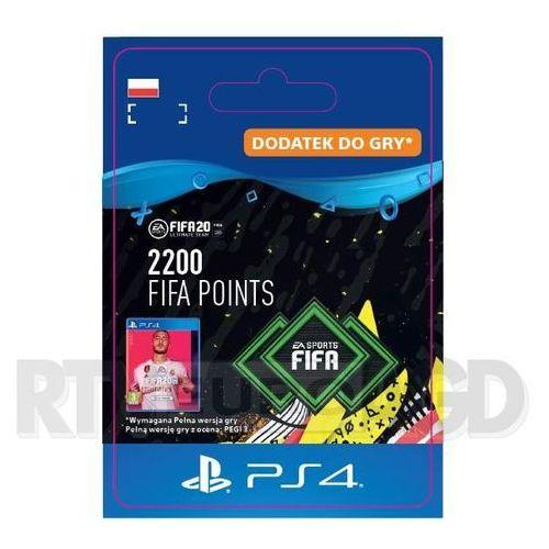 FIFA 20 2200 Punktów [kod aktywacyjny] PS4