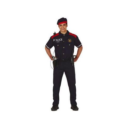 Kostium Policjanta dla mężczyzny - M (48-50)