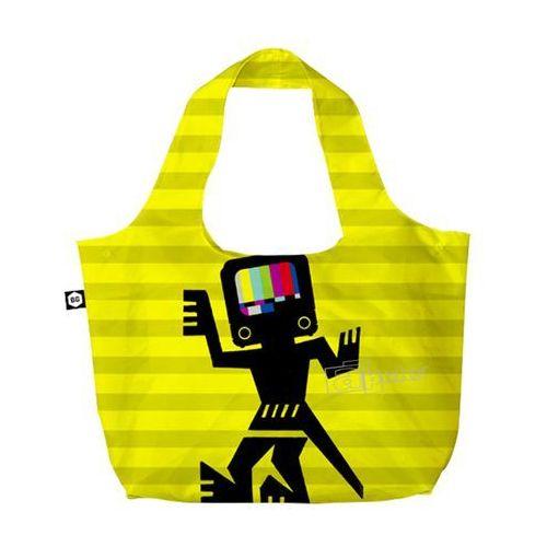 eco bags eco torba na zakupy 3w1 / caveman yellow - caveman yellow marki Bg berlin