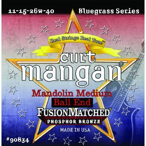 CURT MANGAN Mandolin Med Ball-End