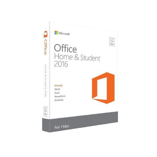 Microsoft Office 2016 home and student for mac, digital license 32/64 bit