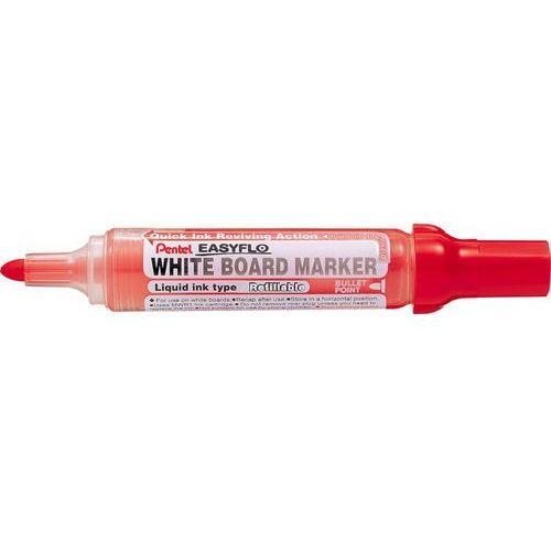 Pentel Marker suchościeralny  easyflo mw50m czerwony