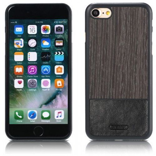 Etui Remax Mugay Series for iPhone 7 Black apricot wood, 47496