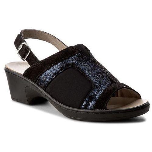 Sandały - maniola stretch sandal f26739 1004 black, Scholl, 37-39