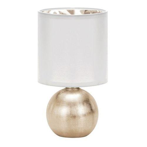 StrÜhm Lampka stołowa perlo e14 gold/white (5901477332913)