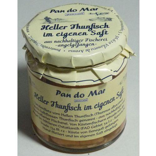Tuńczyk w sosie własnym 220 g - pan do mar marki Pan do mar (rybołówstwo zrównoważone)