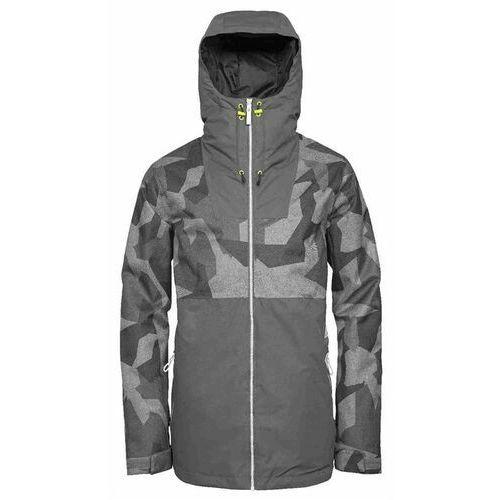 Kurtka - block jacket asymmteric grey (812) rozmiar: l marki Clwr